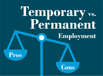 Temporary Work vs Permanent Work